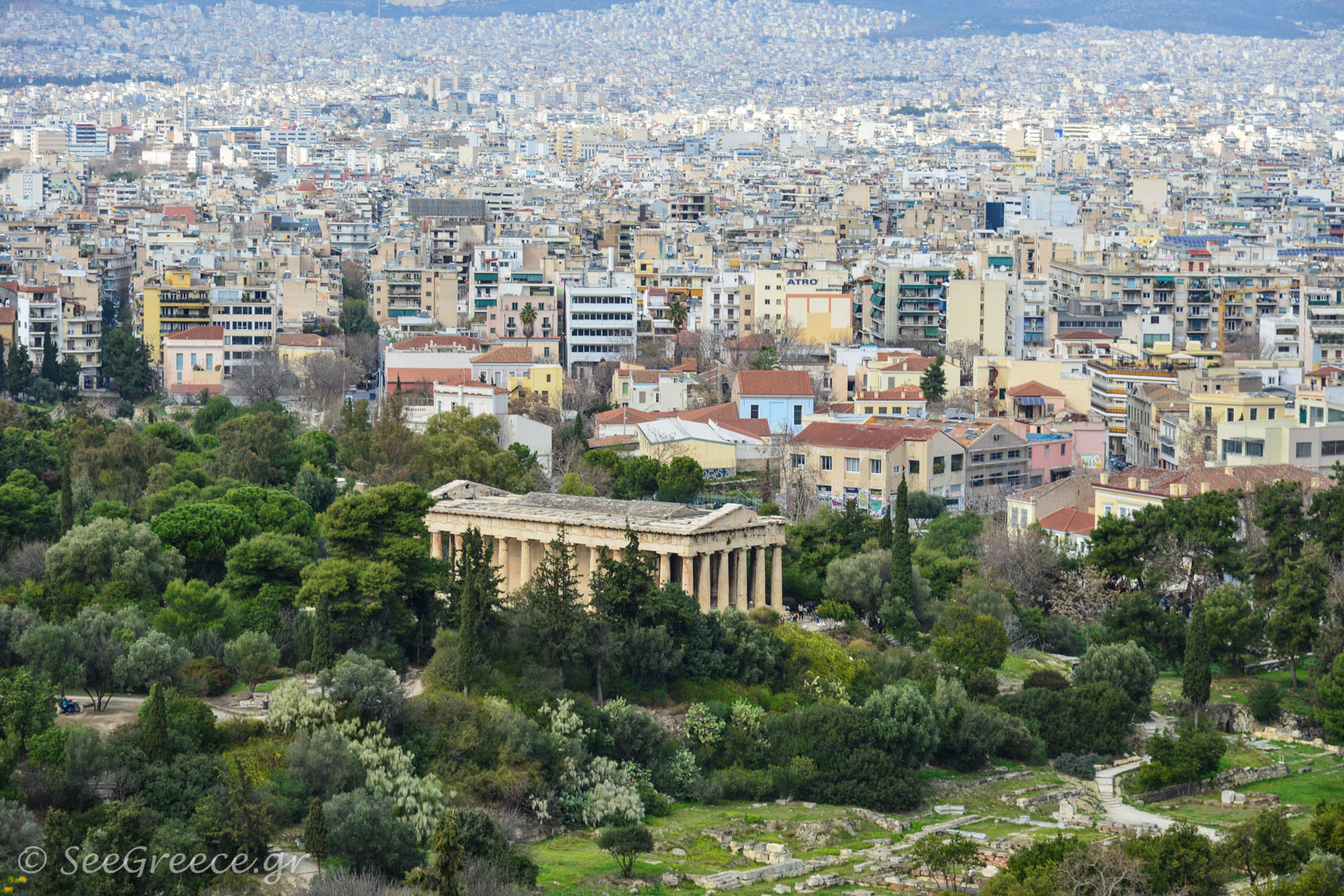 Rentals in Athens with Acropolis view