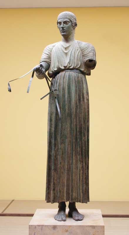 Statue in Delphi