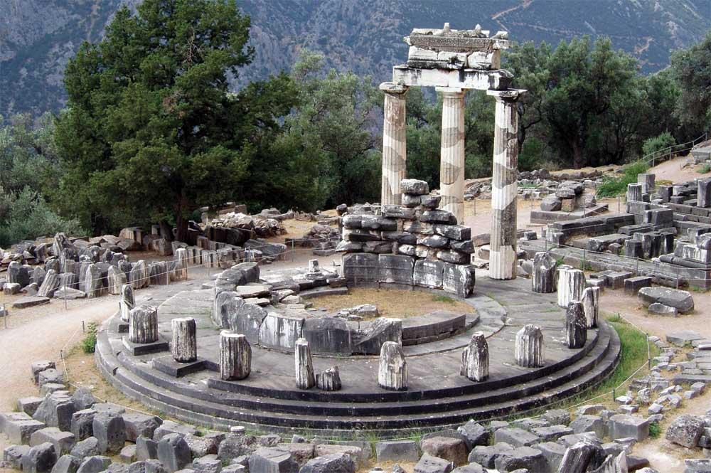Temple In Delphi
