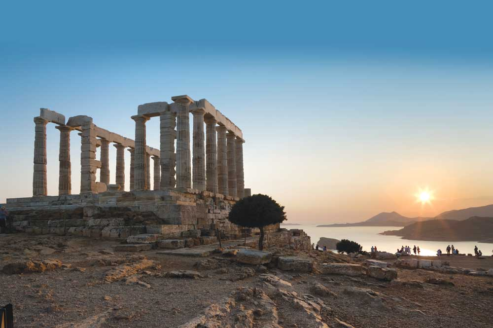 "5 – "" Sunset Tour"" – Cape Sounio"