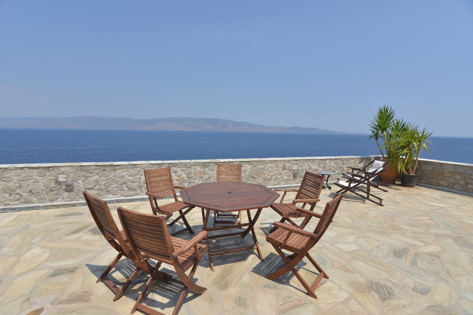Hydra Romantic Stone Made Apartment With Unlimited Sea View