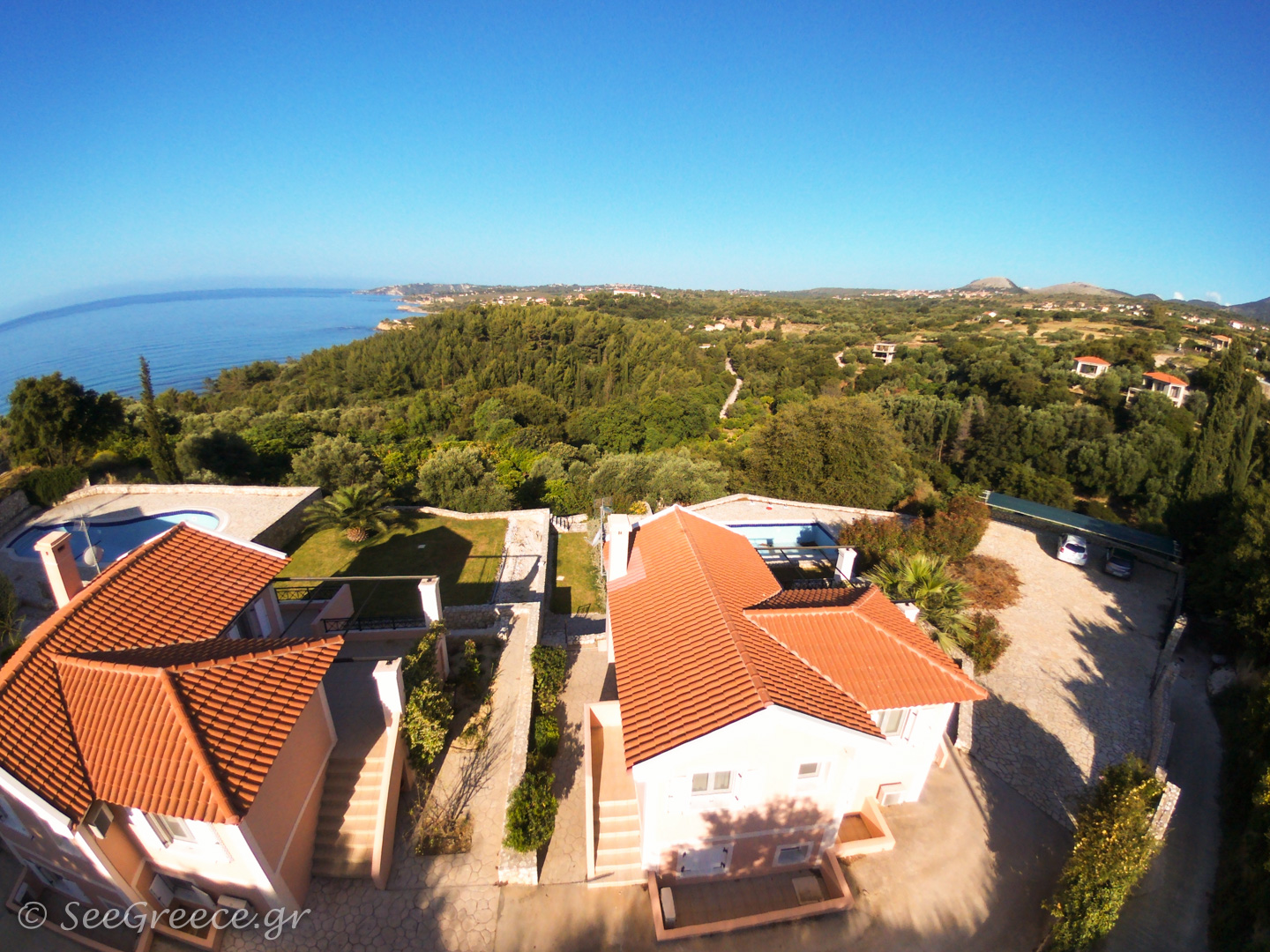 Cephalonia Villa With Panoramic Sea View And Private Pool