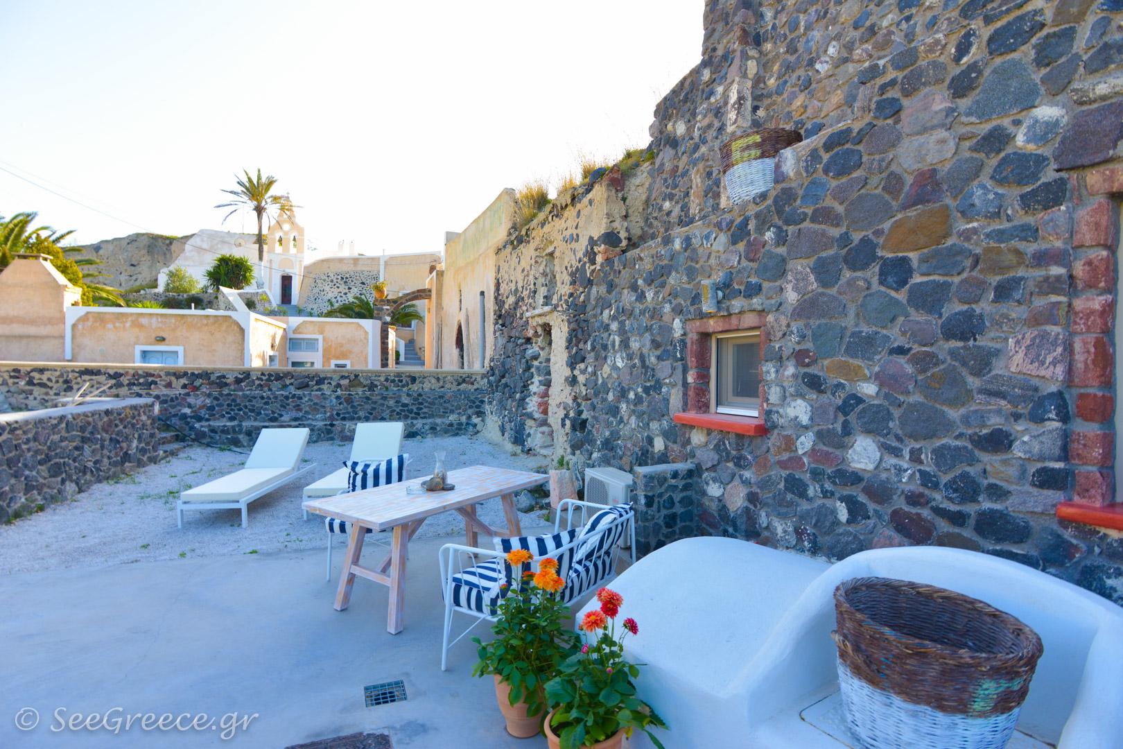 Santorini Private Residence In Mesaria