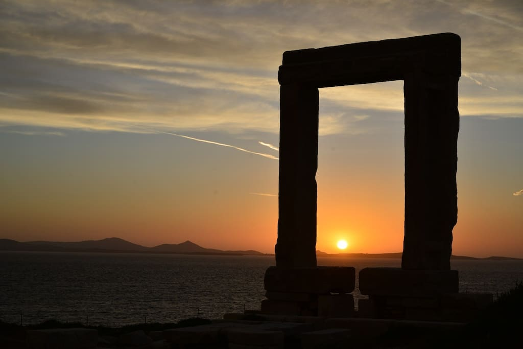 Studio In Naxos With Sunset And Sea View