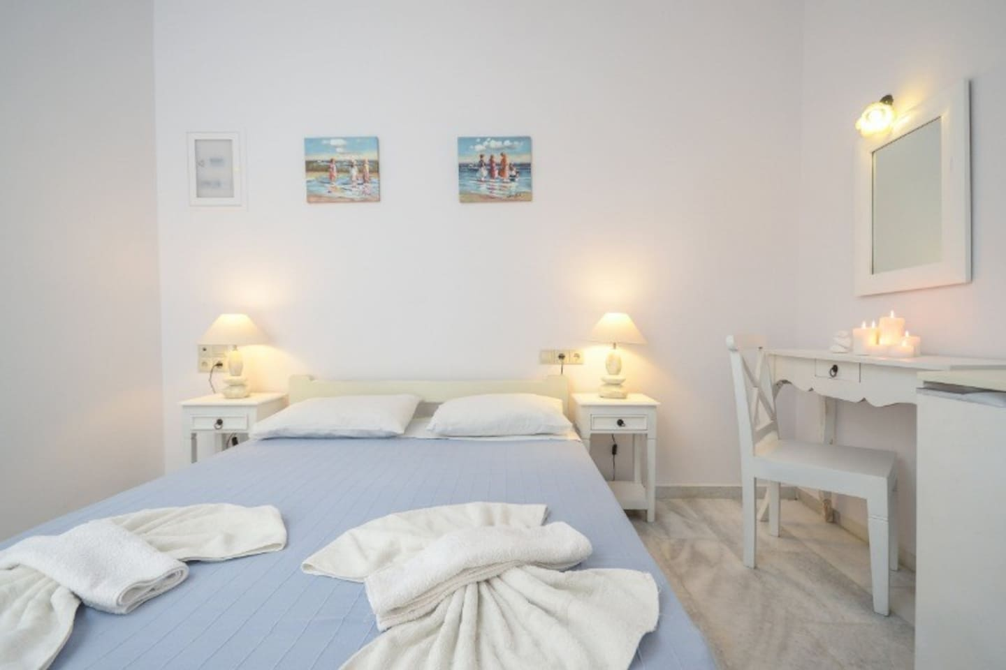 Economic Vacations In Naxos, Close To The Beach