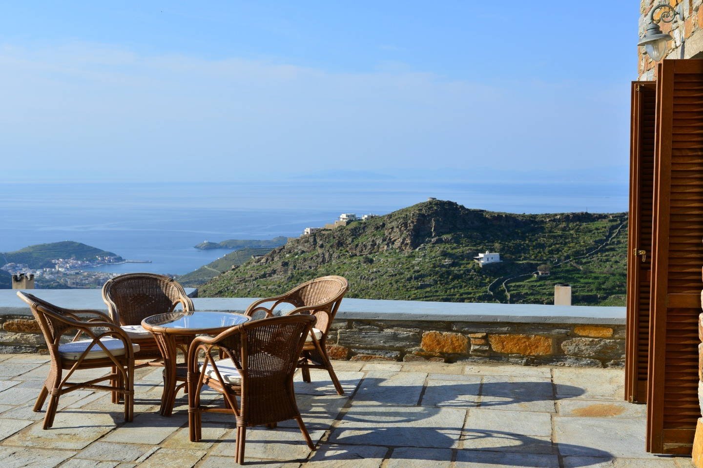 Villa In Kea With Sea View And Private Pool