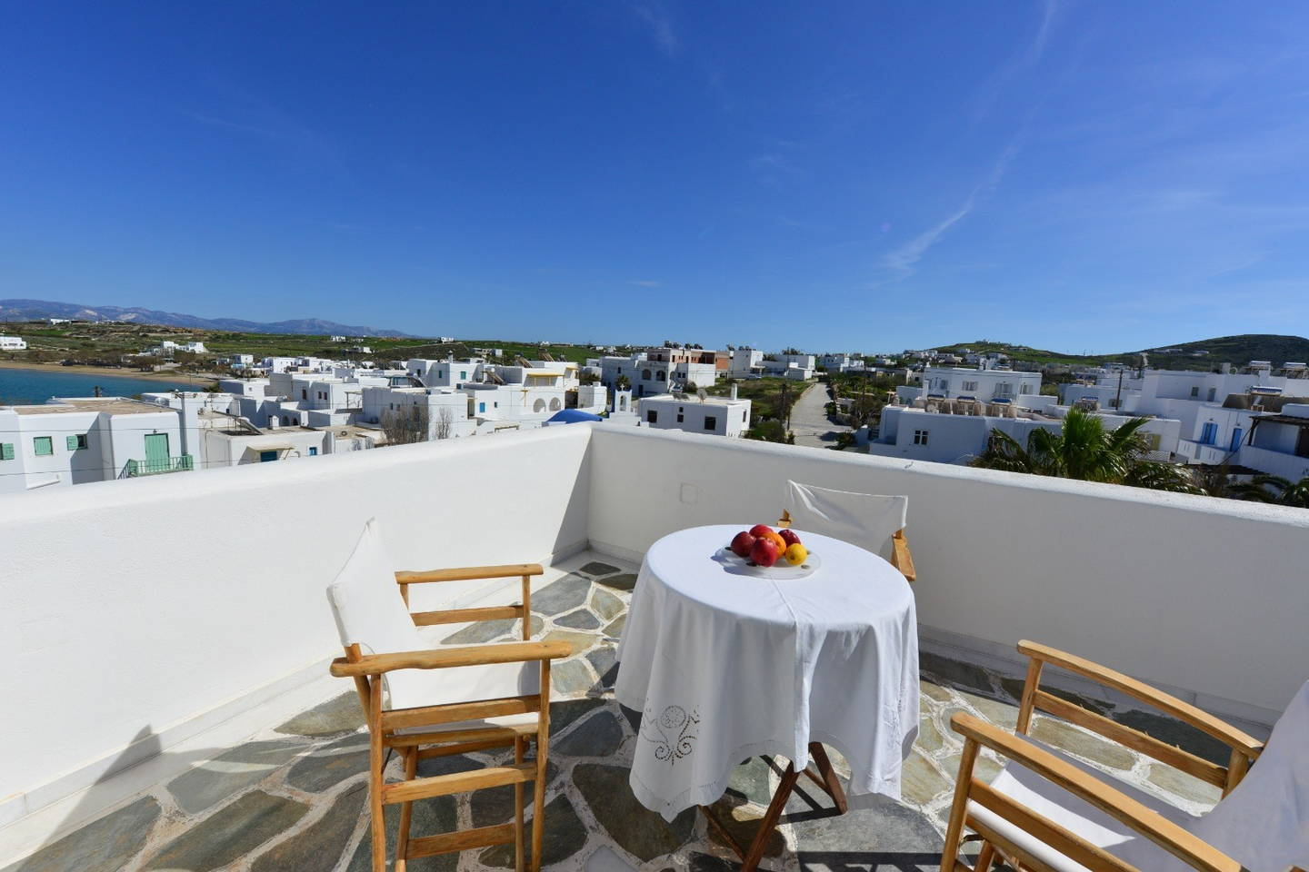 Relaxing Studios With View In Paros (Naousa)