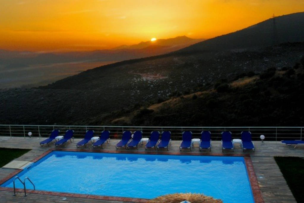 Studios With Panoramic Sea View And Shared Swimming Pool In Evia