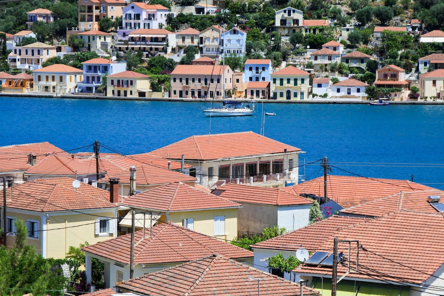 Traditional House With Panoramic Sea View In Ithaki