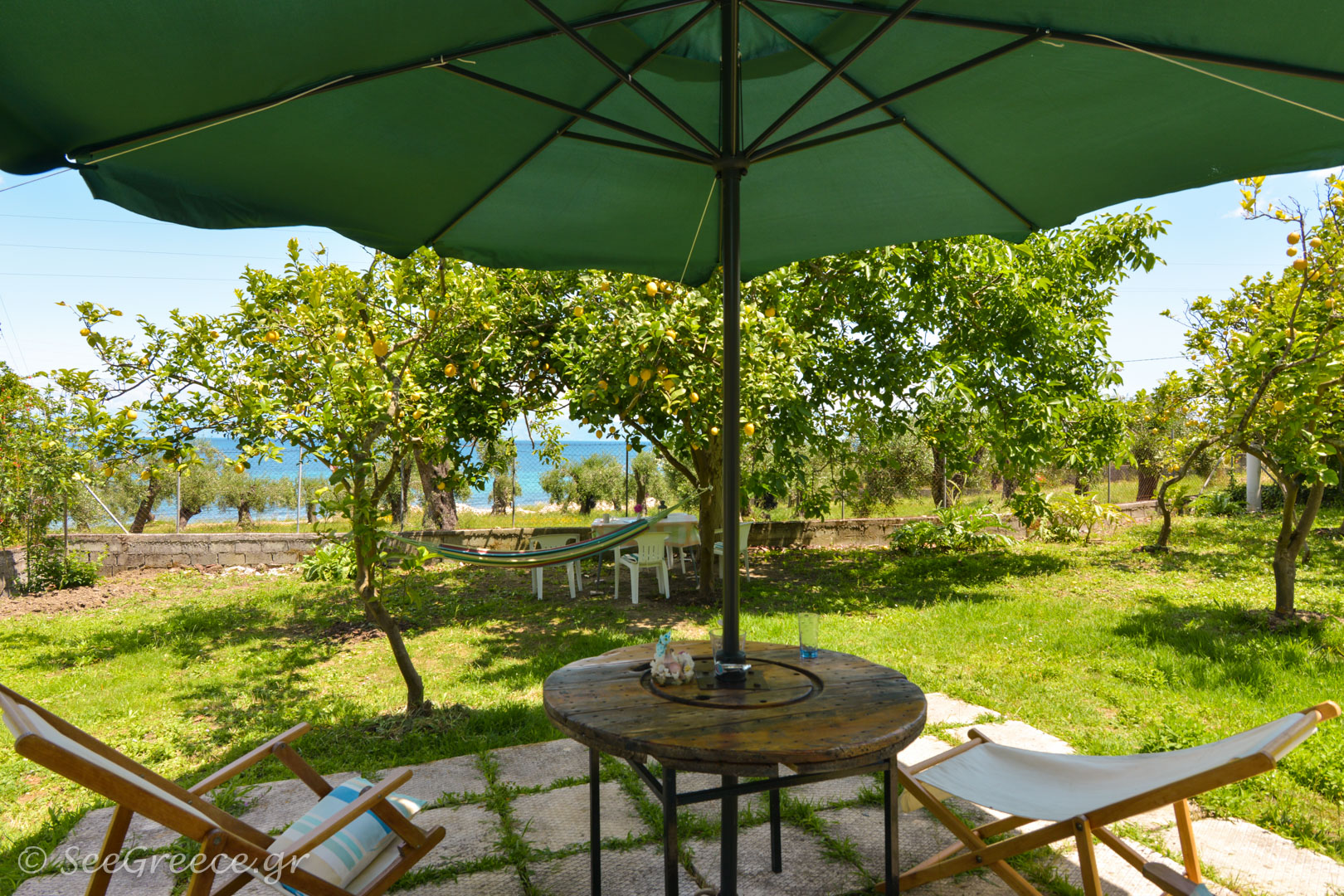 Family And Pet Friendly, Economic Accommodation In Corfu