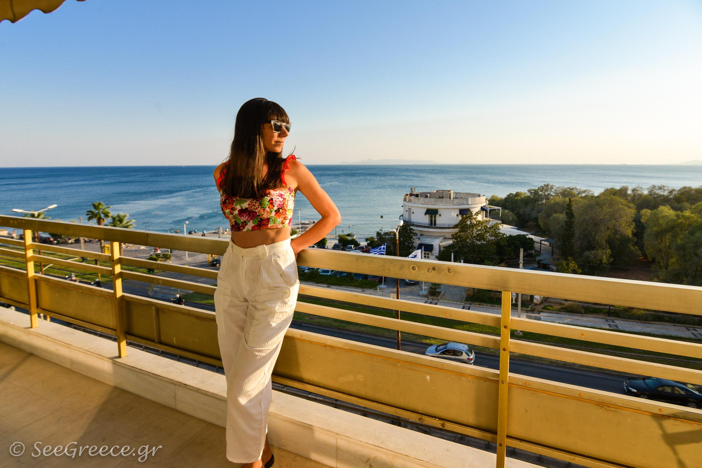 Faliro, Panoramic Sea And Sunset View